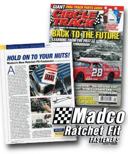 Madco Fastener Featured in Circle Track