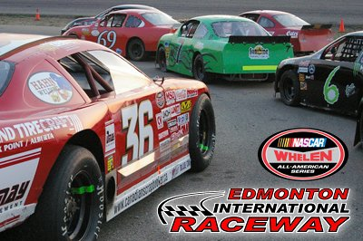 Super Late Models (left) and Baby Grand at EIR