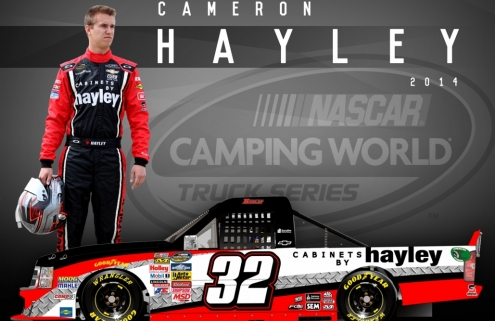 Hayley to run 3 NASCAR Truck dates